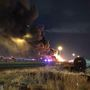 Road crews install temporary fix after I-15 double tanker explosion