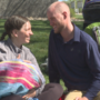 Walking couple welcomes baby to complete their journey
