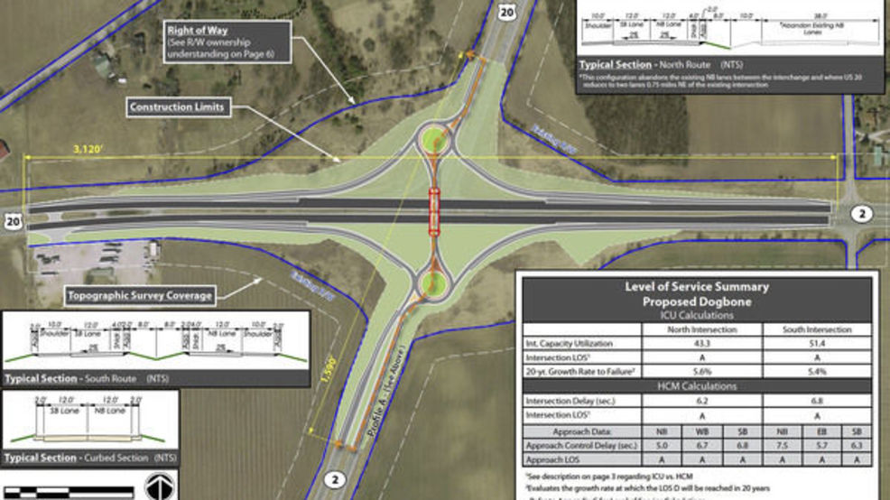 INDOT will be changing State Road 2 and US 20 intersection next year ...