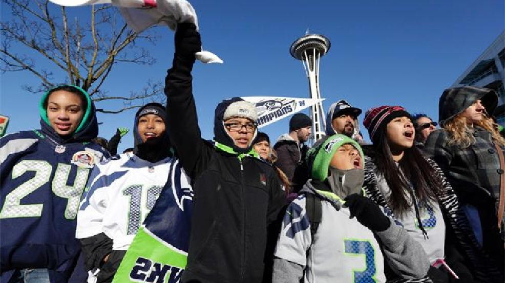 Coldest day since Seahawks' Super Bowl parade on tap for Friday