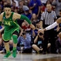 Oregon beats Kansas 74-60 to punch Final Four ticket