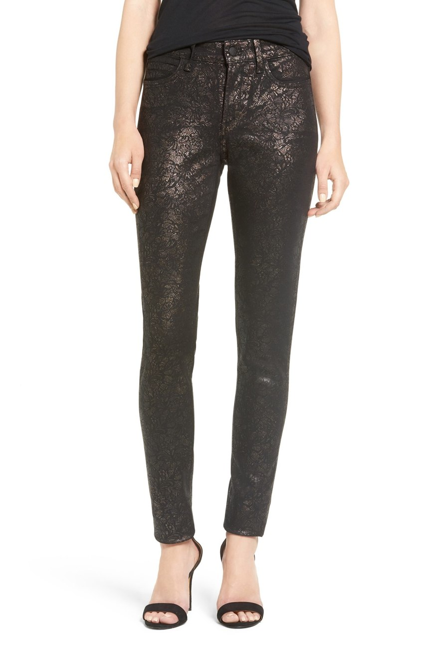 Did someone say girls night?  Date night?  NYE?  Yep, wear these 'Alina Stretch Twill Skinny Pants' to all of the above. $158 (Image: Nordstrom)