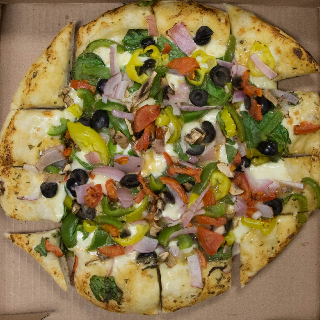 Veggie Pizza / Image: Catherine Viox // Published: 11.16.16
