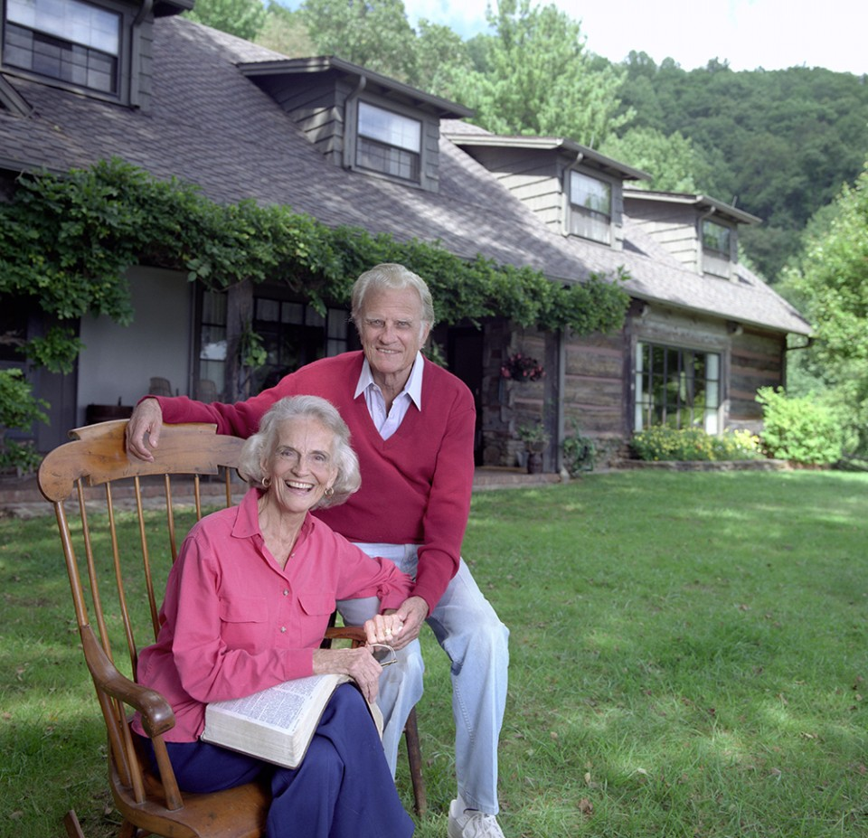 """Ruth and I don't have a perfect marriage,"" Billy Graham once said. ""But we have a great one."" Mrs. Graham went to be with the Lord on June 14, 2007, after more than 63 years of marriage. (Photo: Billy Graham Evangelistic Association)"