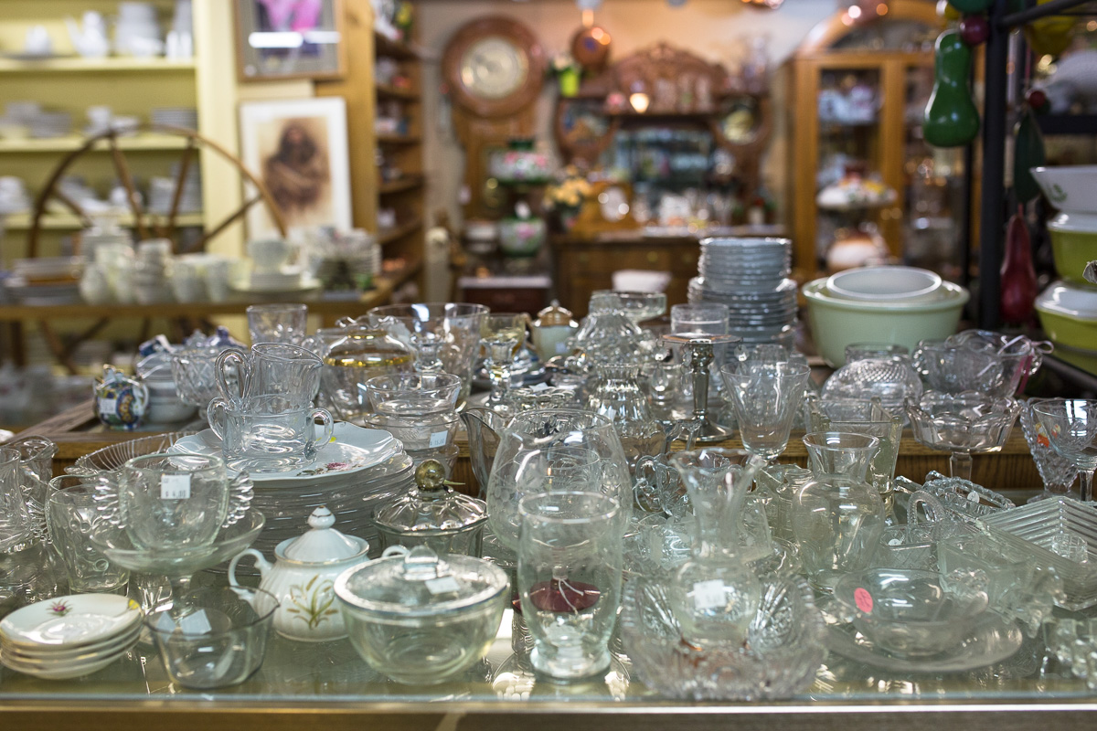 Antiques Mall of Wenatchee (Image: Paola Thomas/Seattle Refined)