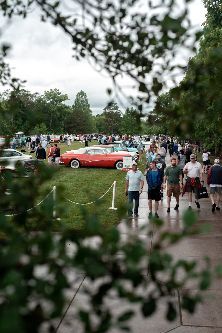 The show included the Will Sherman Automotive Art Show inside the Ault Park Pavilion. Light bites and craft beer were served at the show, as well.{&nbsp;}/ Image:{&nbsp;}Wally German{&nbsp;}// Published: 6.10.19<br>