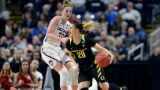 UConn routs Oregon, heads to 10th straight Final Four