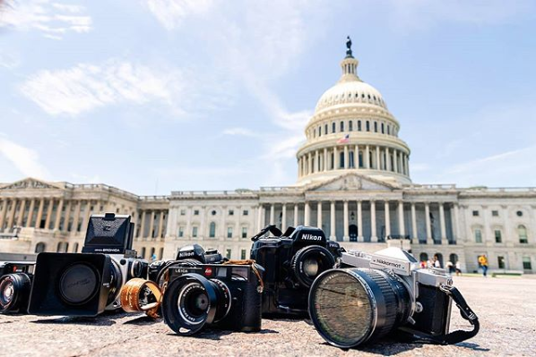 "What started as a meetup group for ""likeminded creatives"" in March of 2015 has turned into one of D.C.'s most popular Insta hashtags with over 100,000 posts tagged with #streetmeetdc. Professional and amateur photographers alike can meet up with one another and then use the hashtag to share their urban photography beyond the group. Here are some of our favorites. (Image via @jshadow_photography)"