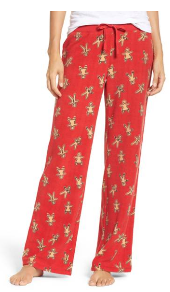 Fleece Pajama Pants from Make + Model, $35 (Image courtesy of Nordstrom).<p></p>