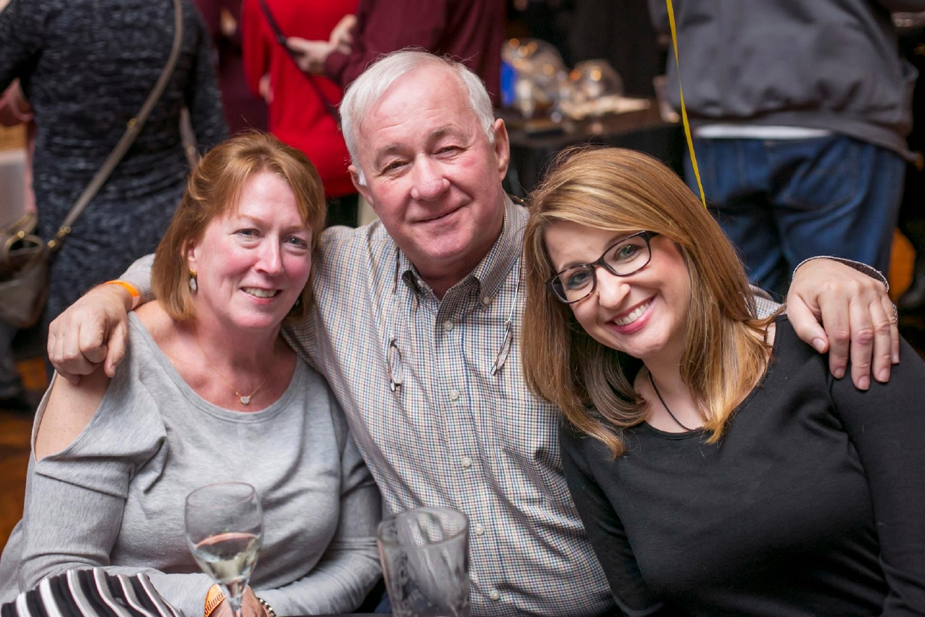 Barb & Stan Bachmeyer with Laura Bachmeyer / Image: Mike Bresnen Photography