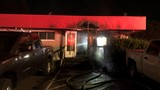Fire damages commercial building in Kent