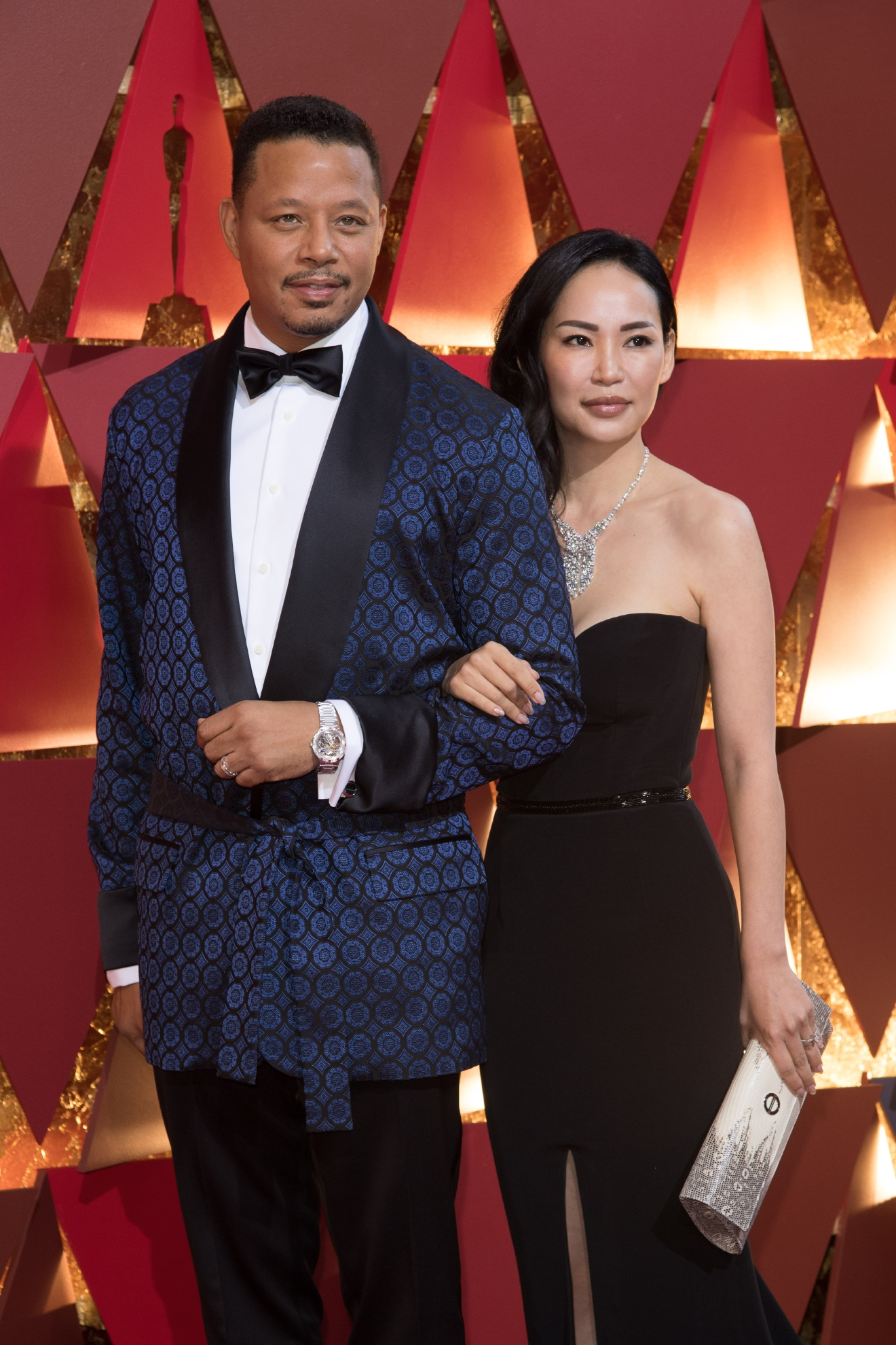 #8: Terrence Howard. Terrence work a smoking jacket to the Oscars. So he gets #9. (Image: AMPAS)