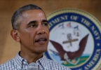 Obama 1225.jpgPresident Barack Obama speaks during an event to thank service members and their families at Marine Corps Base Hawaii in Kaneohe Bay, Hawaii, Sunday, Dec. 25, 2016. (AP Photo/Carolyn Kaster)
