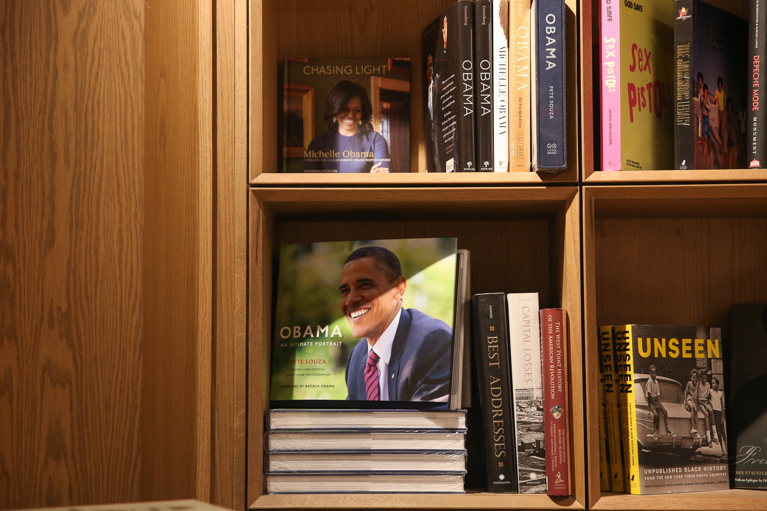 Kramerbooks & Afterwords Cafe was open at midnight last night, when James Comey's