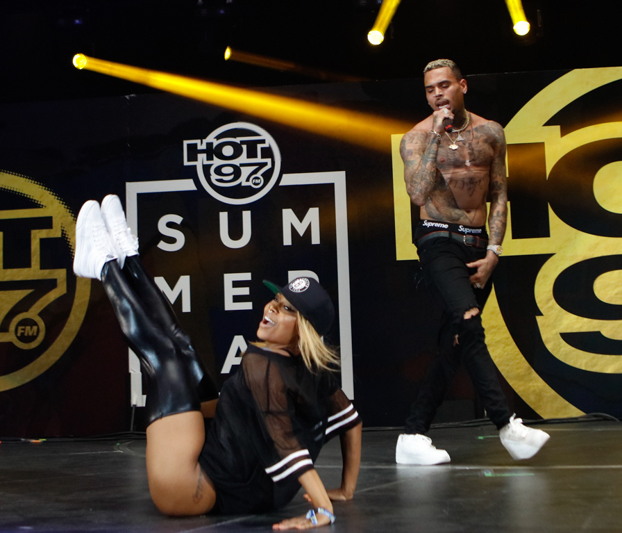 Hot 97's Summerjam 2017 at the Metlife Stadium in New Jersey - Performances                                    Featuring: Chris Brown                  Where: East Rutherford, New Jersey, United States                  When: 11 Jun 2017                  Credit: WENN.com
