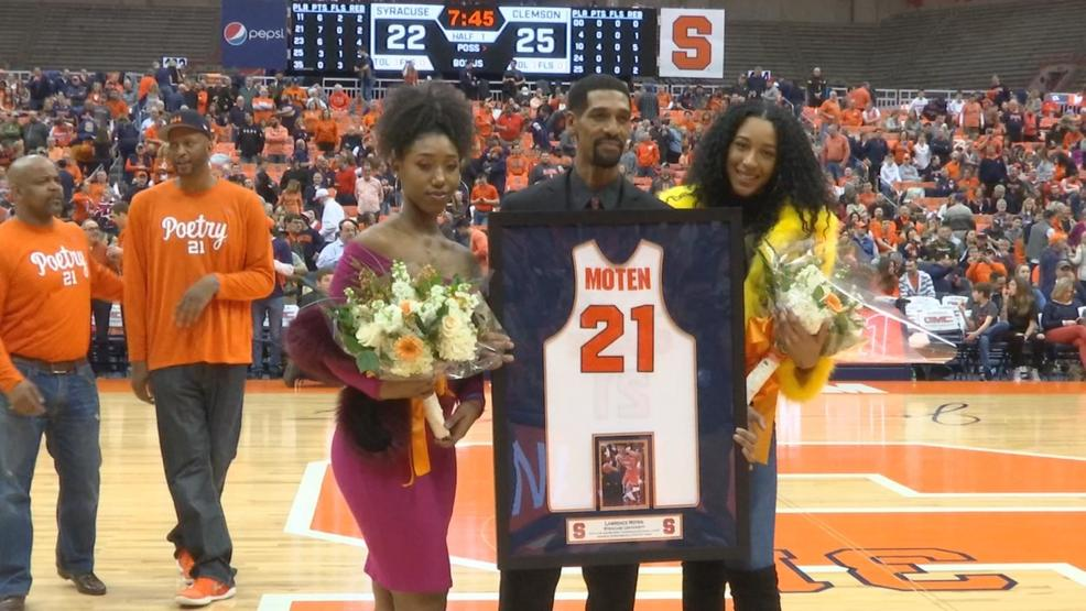 official photos 36a3e 10300 A moment in time- Lawrence Moten's #21 retired by Syracuse ...