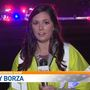 Kelsey Borza live from scene of fatal accident on I-10 in Vidor