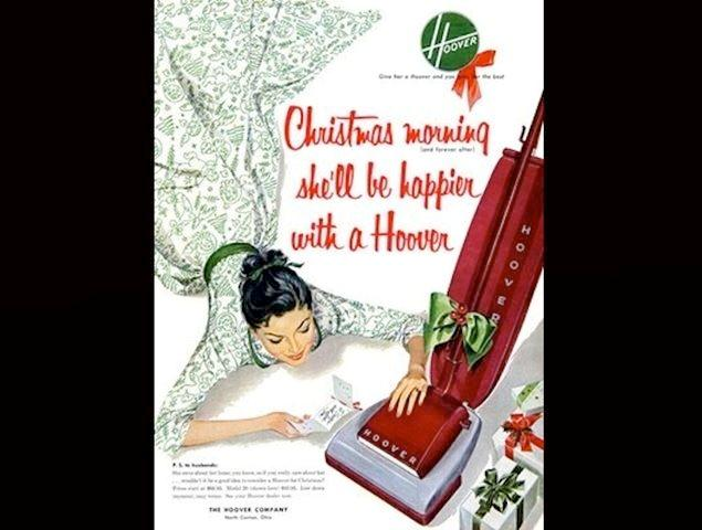 Ever given your wife a vacuum for Christmas? It probably didn't go over well.