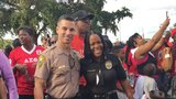 Video of Miami law enforcement at the Trayvon Martin Peace Walk goes viral