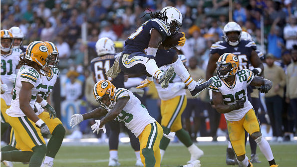 The Packers are allowing 127.7 rushing yards per game (24th in the NFL).