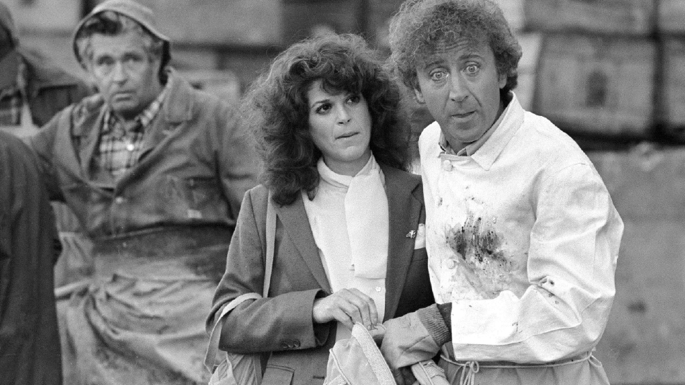 Comic performer Gene Wilder kept his serious side off camera
