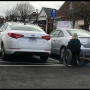 Driver blocks handicap parking spot, disabled operator can't access car