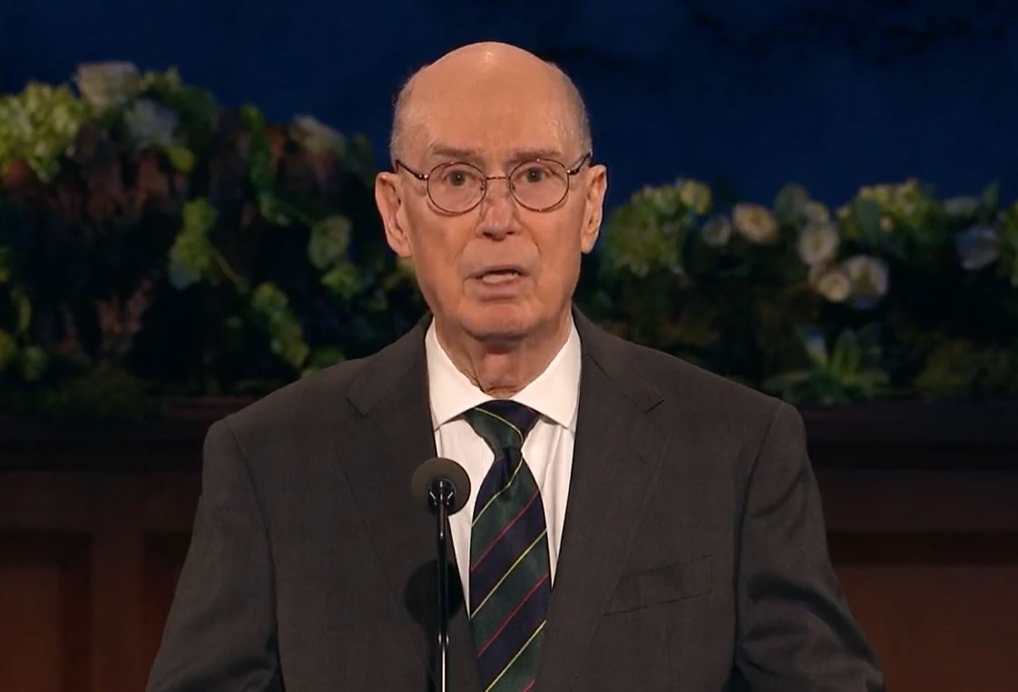 President Henry B. Eyring, Second Counselor of the First Presidency (Photo: YouTube / screengrab)<p></p>