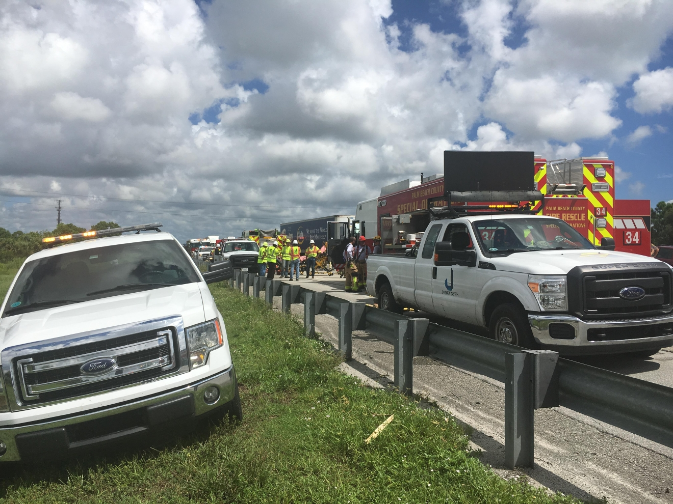 FL Turnpike grave accidente.JPG