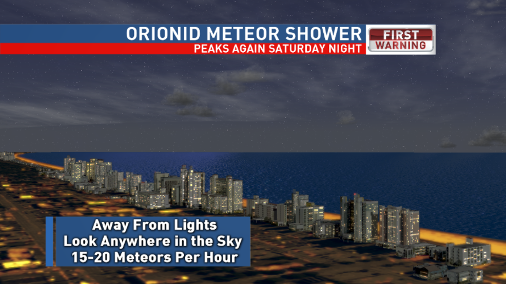 Look up tonight as the Orionid Meteor Shower peaks