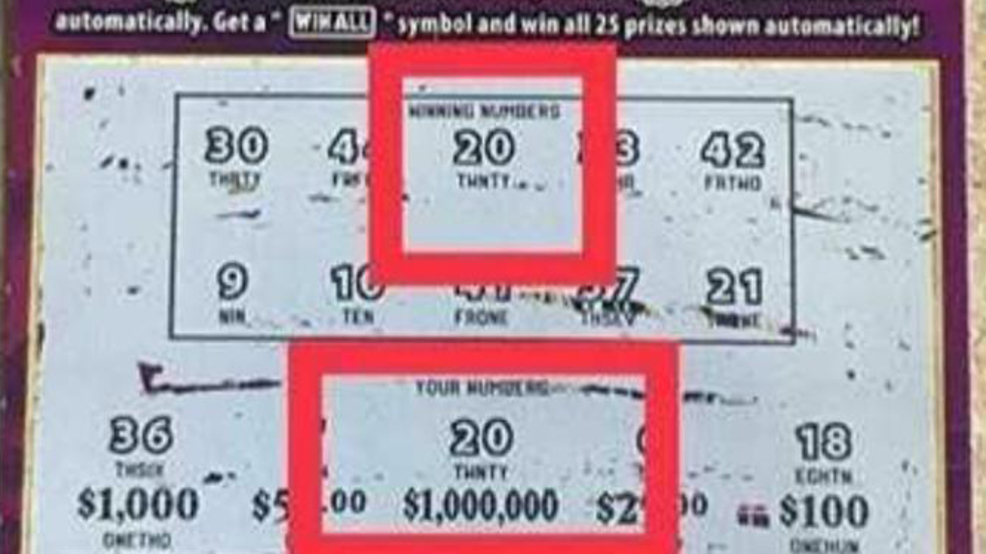 1 Million Dollar Scratch Off Ticket Sold In Winchester Wdky