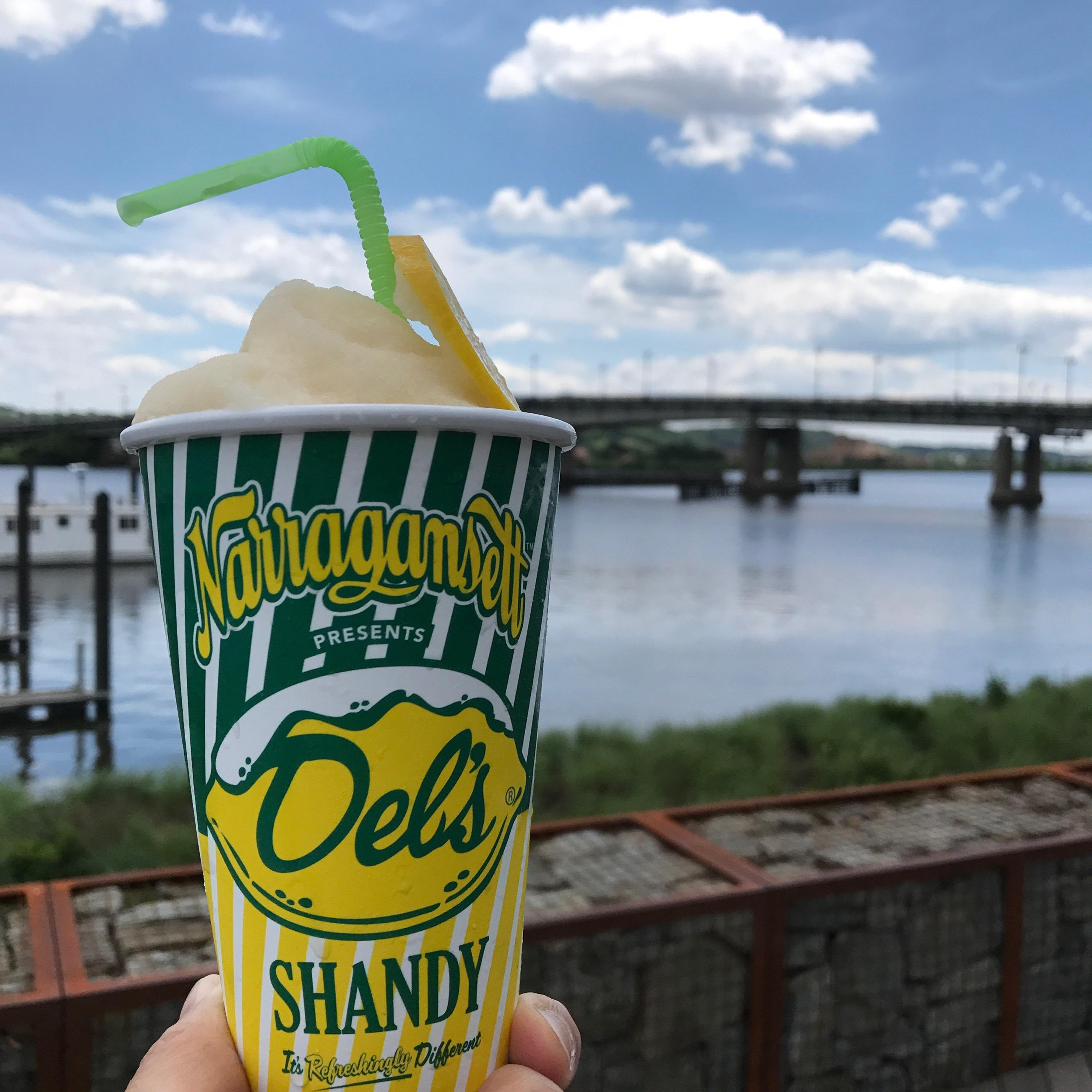 To celebrate the approach of spring, The Salt Line team has revamped the menu, including{&nbsp;}fun drinks from Beverage Director Donato Alvarez like the Del's frozen shandy. (Image: Courtesy The Salt Line)<p></p>