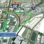 Car-Nado: Ramp closure at the spaghetti bowl to start on October 26 at 10 p.m.