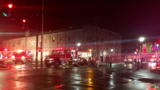 Crews fight fire at former Rensselaer City Hall