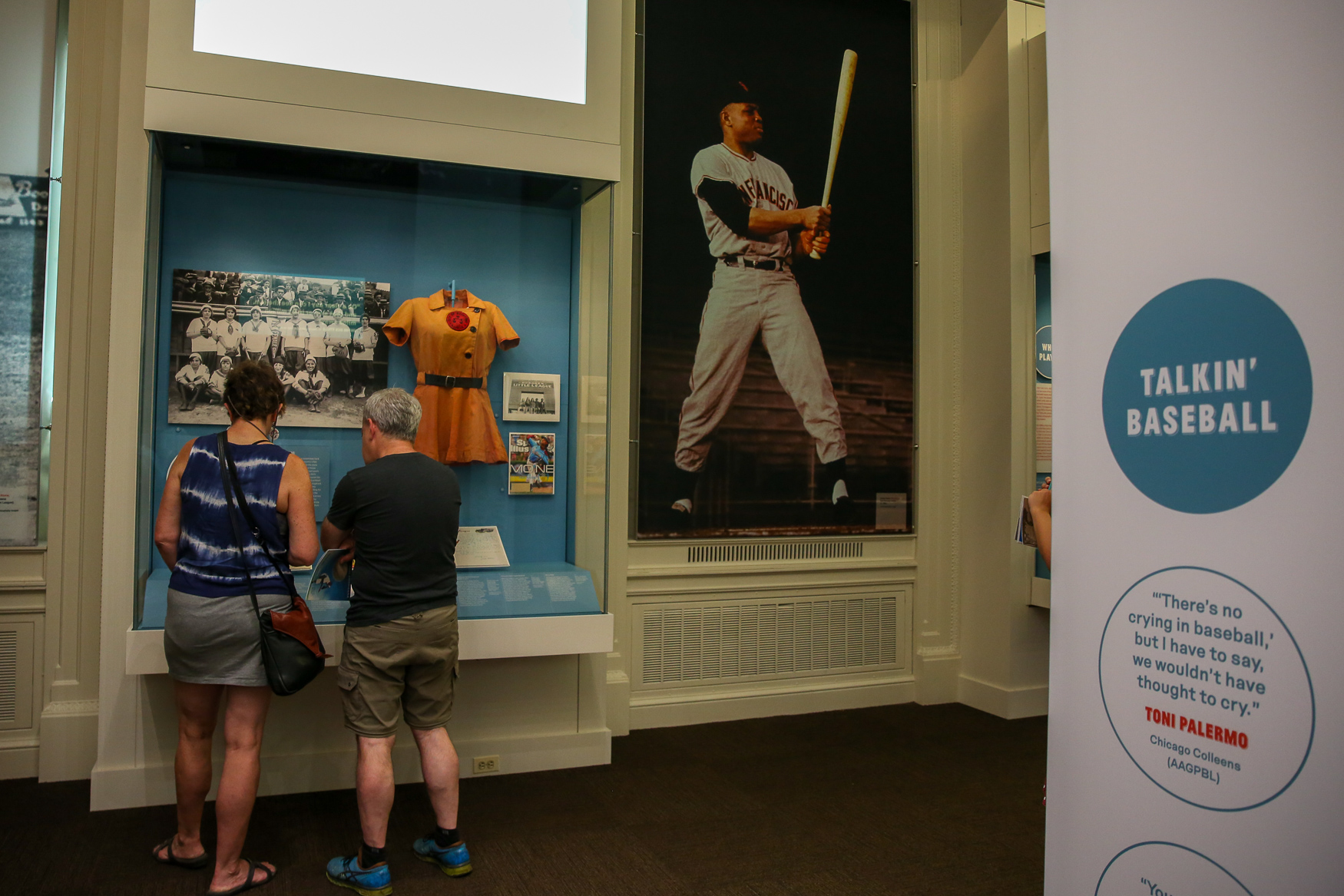 "There's no need to sit in the sweltering heat of Nats Park to learn about baseball, thanks to the Library of Congress' new exhibition. 'Baseball Americana', which opened on June 29, delves into the history of baseball in America with multimedia displays and historical displays, like Babe Ruth's cleats and replays of famous games. In addition to the exhibit, the Library of Congress will also host events, like a screening of{&nbsp;}<h2>""Field of Dreams"" and a talk with Michael Lewis, the author of ""Moneyball."" (Amanda Andrade-Rhoades/DC Refined)</h2>"
