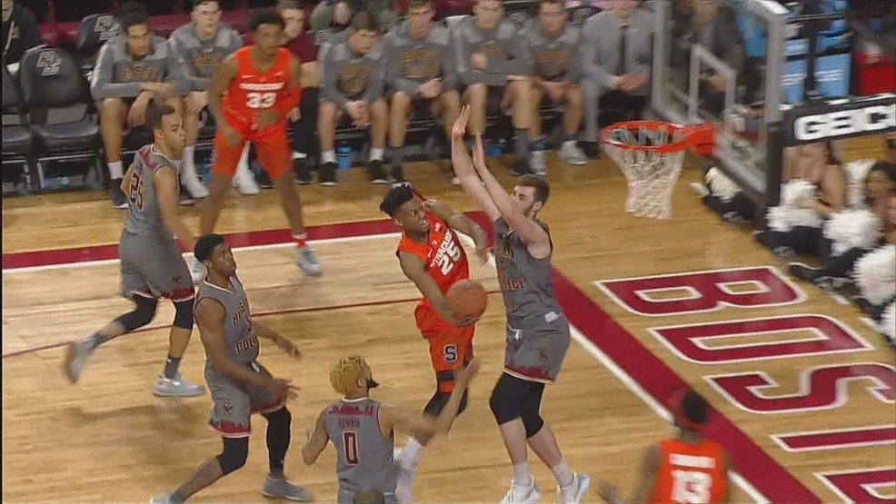 Tyus Battle Leads Syracuse To Hard Fought Road Win At Boston College