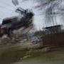 Caught on cam: Stolen truck goes airborne
