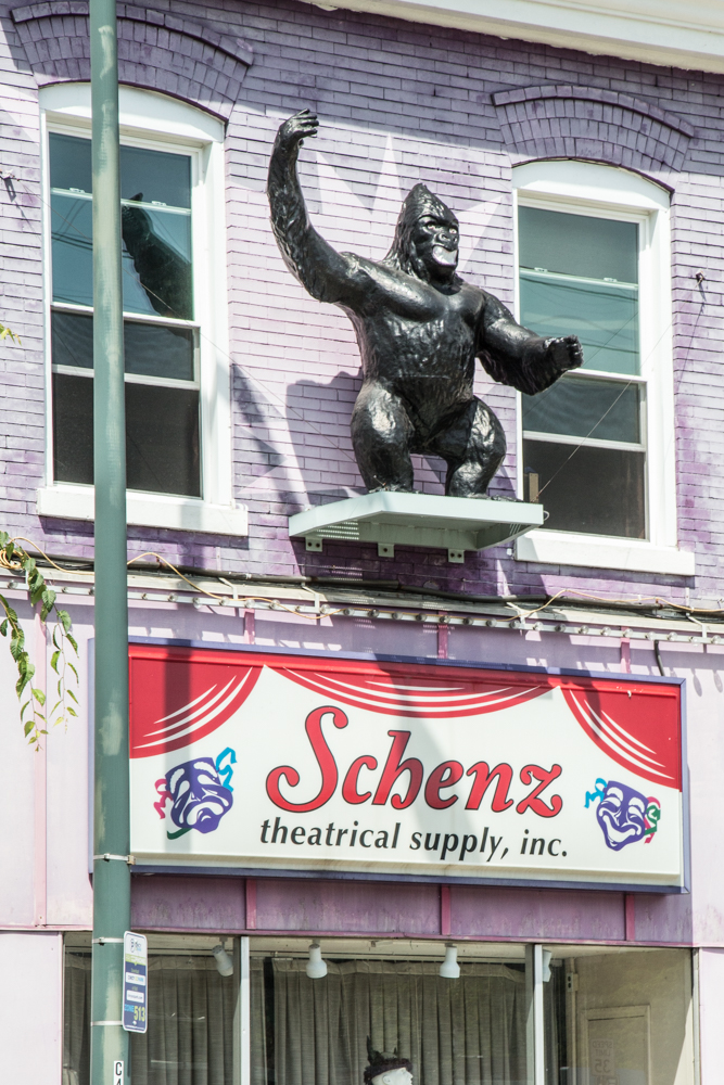 Schenz Theatrical Supply, Inc is a respected manufacturer of costumes for both amateur and professional use. / Image: Catherine Viox // Published: 7.21.17