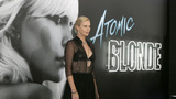 'Atomic Blonde' stars strike a pose at Los Angeles premiere