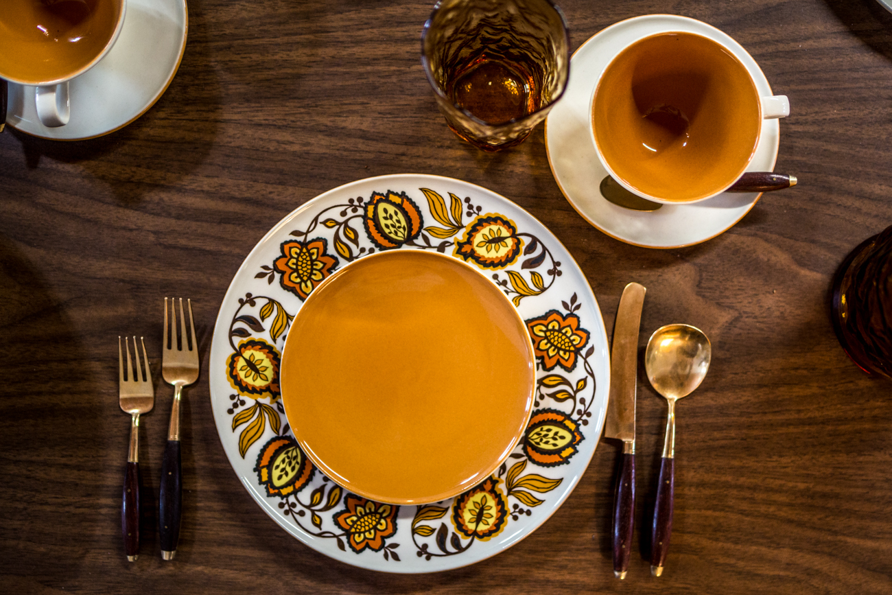 Gorgeous vintage dishware / Image: Catherine Viox{ }// Published: 11.9.19