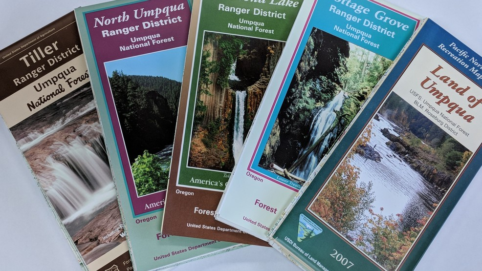 US Forest Service map prices set to increase January 1 | KTVL