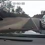 FHP releases dashcam video of trooper nearly being run off I-10 by truck driver