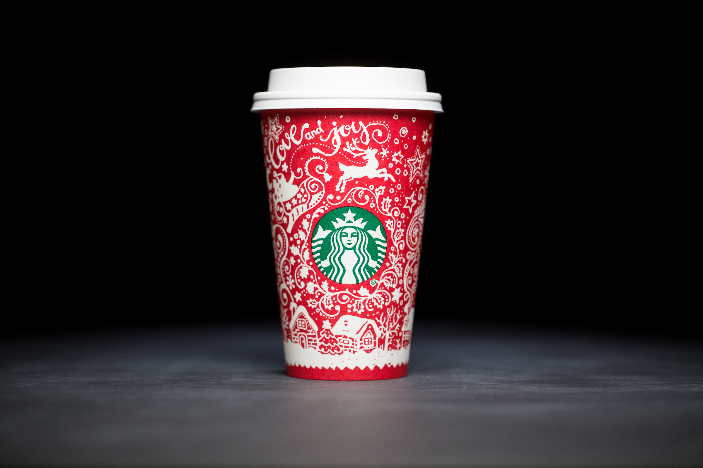 2016: For 20 years, Starbucks have released a range of holiday cup designs, most of them based around their world famous red cup. It's not easy to find the very first Starbucks holiday cups, which made their debut in stores in 1997. Few were saved, and electronic design files were lost in an earthquake in 2001. Even an Internet search is unyielding, with the cups having made their arrival long before the first selfie. But, we have them here! Click on for a photos of all 20 holidays cup designs. (Image: Joshua Trujillo/Cover Images)