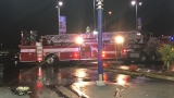 Crews act fast to extinguish fire at Mercedes Benz dealership