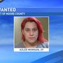 Woman wanted out of Moore County for possession of controlled substance