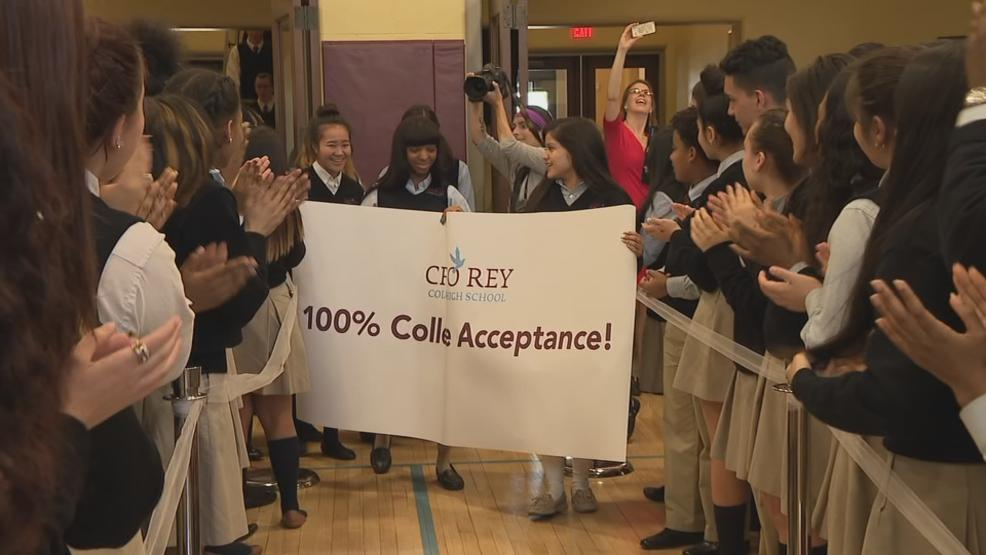 Every graduate of Cristo Rey Columbus High School is headed to college. (WSYX/WTTE)