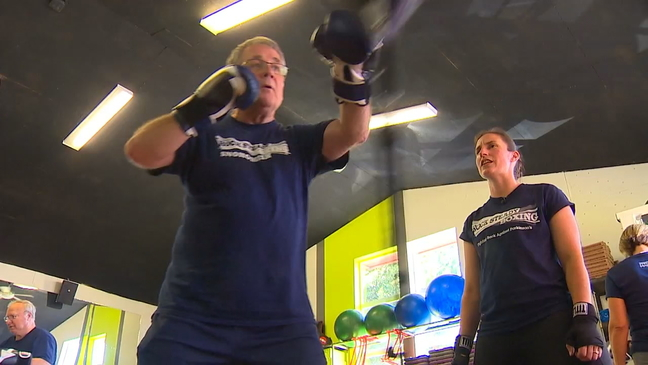 Parkinson's patients fight disease with their fists