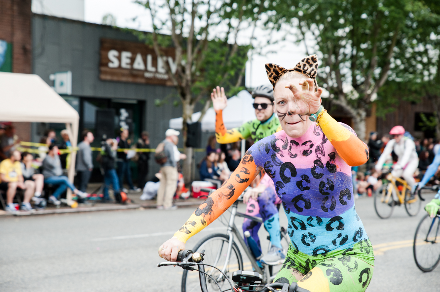 "2019 Fremont Solstice Parade. Today we're celebrating what would have been the 2020 Fremont Solstice Parade with a look back at parade's past and remembering how downright wild and wacky they are. We know you're missing that creative release Seattle - we are too! The Fremont Artist Council is{&nbsp;}<a  href=""https://fremontartscouncil.org/parade/"" target=""_blank"" title=""https://fremontartscouncil.org/parade/"">having a Virtual Parade</a>{&nbsp;}and heck, no judgment from us if you want to watch it naked or with body paint on. See you next year… (Image: Elizabeth Crook / Seattle Refined)"