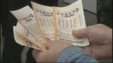 Powerball jackpot at $349 million for big weekend drawing