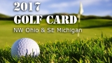 2017 NBC 24 Golf Card