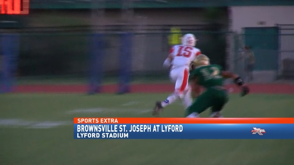 Big Plays Make The Difference In St  Joseph's Victory At Lyford